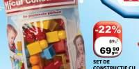 Set de constructie cu 78 de cuburi