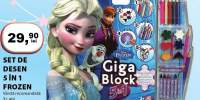 Set de desen 5 in 1 Frozen