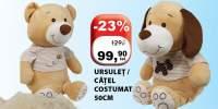 Ursulet/ catel costumat 50 centimetri