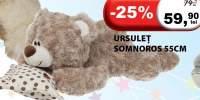 Ursulet somnoros 55 centimetri