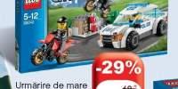 Urmarire de mare viteza cu politia Lego
