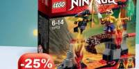 Ninjango Cascada de lava Lego