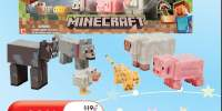 Set de 5\6 figurine Minecraft