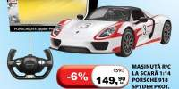 Masinuta R/C la scara 1:14 Porsche 918 Spyder Prot