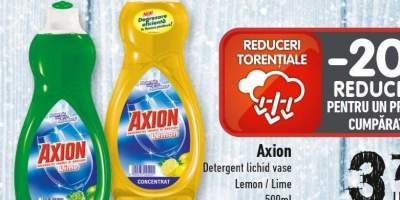 Detergent lichid vase Lemon/ Lime Axion