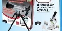 Set microscop si telescop cu accesorii