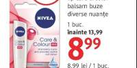 Nivea lip care & color balsam buze