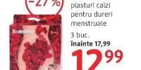 Biointimo plasturi calzi pentru dureri menstruale