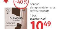 Diamond opaque ciorap pantalon gros