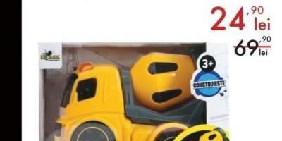 Noriel micul santier - camion cifa cu lumini si sunete