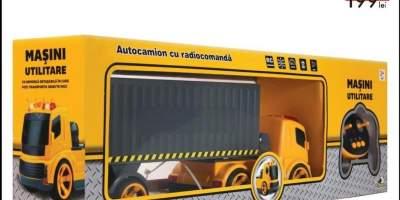 Masini utilitare - autocamion cu radiocomanda