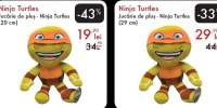 Jucarie de plus - Ninja Turtles 20/ 29 centimetri