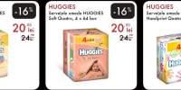 Servetele umede Huggies Pure Quatro