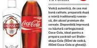 Vodca Stalinskaya + Coca Cola