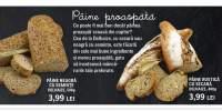 Paine neagra cu seminte/ paine rustica cu secara, Delhaize