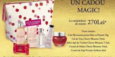 Cumpara L'Occitane in valoare de 270 de lei si primesti un cadou!