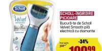 Pila electrica cu diamante Scholl Velvet Smooth