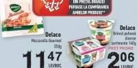 Mozzarella Gourmet, Delaco + Branza pufoasa, Delaco