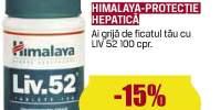 Himalaya - protectie hepatica