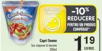 Capri Sonne suc capsune si banane