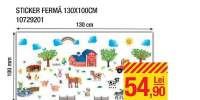 Sticker Ferma 130x100 centimetri
