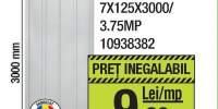 Lambriu PVC alb