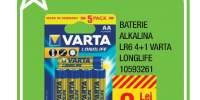 Baterie Alkalina LR6 4+1 Varta Longlife