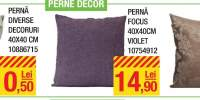 Perne decor