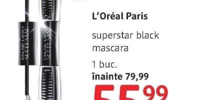 L'Oreal Paris Superstar black mascara