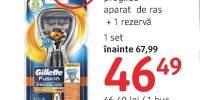 Aparat de ras + 1 rezerva Gillette Power Flexball Proglide