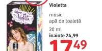 Apa de toaleta Violetta