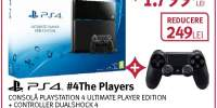 Consola Playstation 4 Ultimate Player Edition + controller DualShock 4