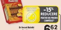 Biscuiti cu crema Dr. Gerard Baletki