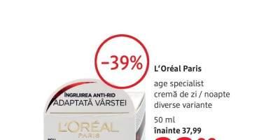 L'Oreal Paris age specialist  crema de zi/ noapte