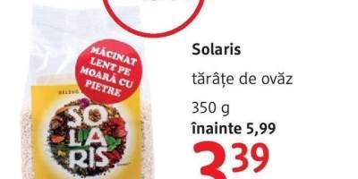 Solaris tarate de ovaz