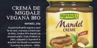 Crema de migdale vegana Bio