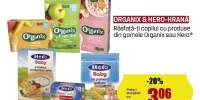 Organix & Hero-hrana