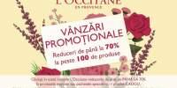 Vanzari promotionale L'Occitane