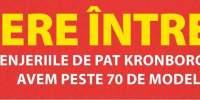Reducere intre 25-50% la toate lenjeriile de pat Kronborg Plus si Gold