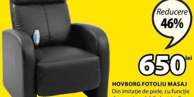 Hovborg fotoliu masaj