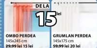 Perdea Ombo/Grumlan