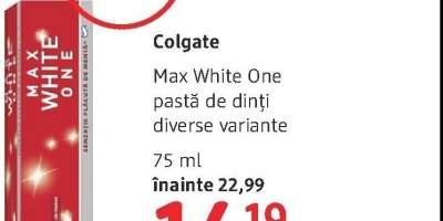 Colgate Max White One pasta de dinti