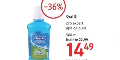 Oral B Pro Expert apa de gura