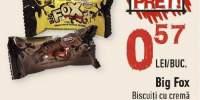 Big Fox biscuiti cu crema