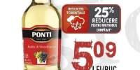 Otet alb/rosu Ponti