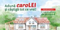 Cumpara din Mega Image mezeluri Caroli si poti castiga o casa de 50.000 de euro