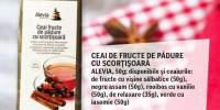 Ceai de fructe de padure cu scortisoara Alevia