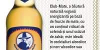 Bautura naturala vegana energizante pe baza de frunze de mate Club-Mate