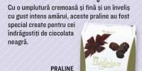 Praline cu ciocolata neagra The Belgian