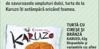 Turta cu cirese si branza Karuzo